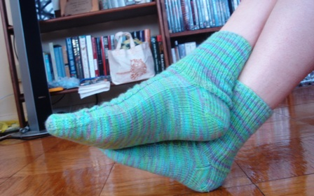 My_first_pair_of_socks