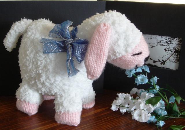 Warm Fuzzies Lucy The Lamb